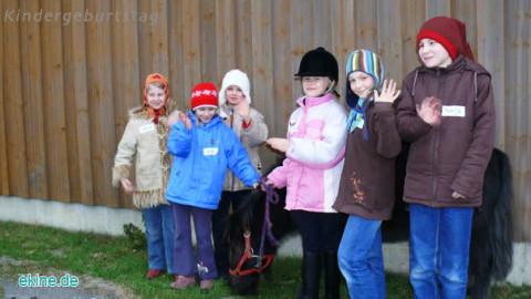 Kindergeburtstag auf unserem Gutshof und Reiterhof Wolfshain Leipzig