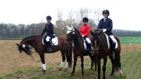 Reiterwettbewerb in Noschkowitz