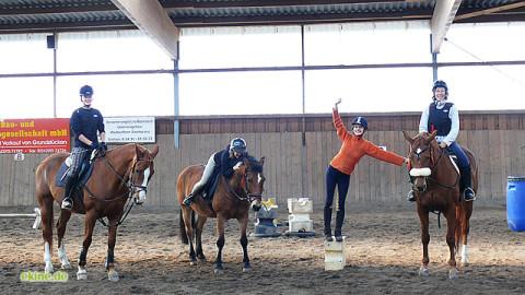 Reiterspiele am Freitag