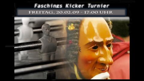 Faschings Kicker Turnier