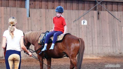 Reiterferien – Voltigiertraining