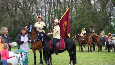 Spannendes Mounted Games Turnier in Panitzsch