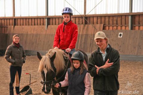 Beginn der zweiten Reiterferien Woche