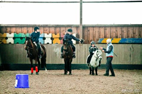 Pferdesport – Reiterspiele Training