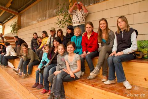 Ausflug zur Quadrille Landesmeisterschaft auf dem Reiterhof Schloss Gundorf
