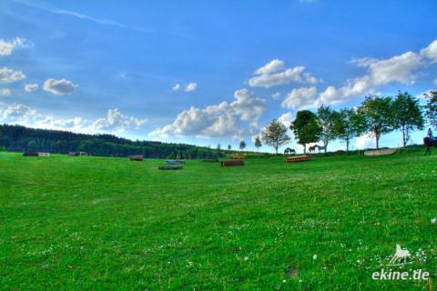 Vielseitigkeit – Training in Hennersdorf