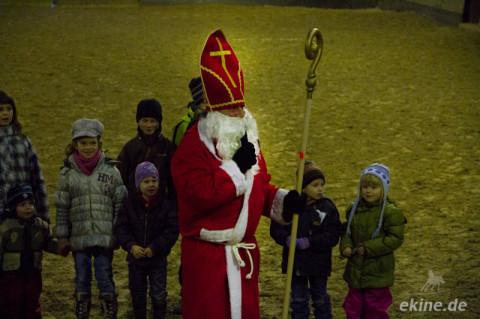 Weihnachtsfeier mit Turnier auf dem Reiterhof Gutshof Leipzig-Wolfshain