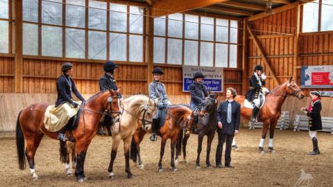 Fotos vom Quadrillenwettbewerb aus Leipzig-Gundorf