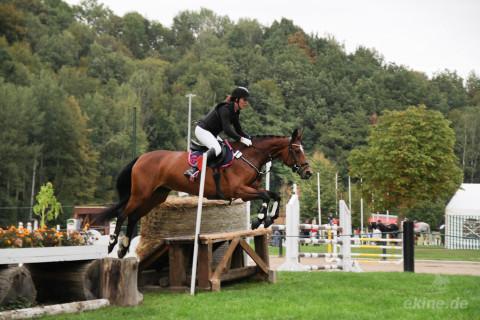 Unsere Reiterinnen beim Gelände Reitturnier in Seelitz