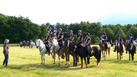 Spannende Mounted Games Meisterschaft in Panitzsch